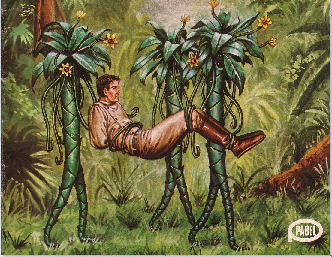 Великолепные обложки немецкого фантастического журнала Terra (1).JPG
