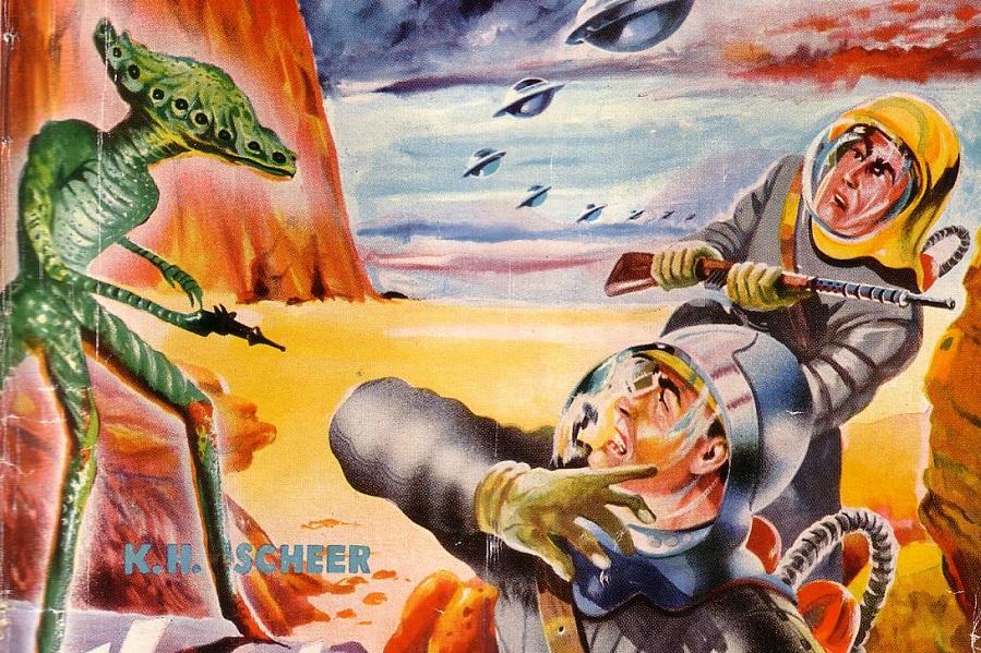 Великолепные обложки немецкого фантастического журнала Terra (14).jpg