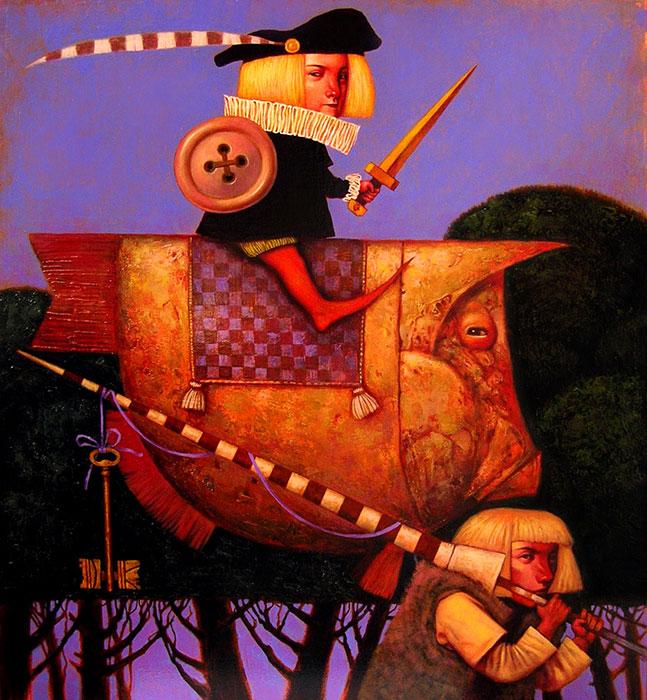 Рыцарь (детство Мигеля Сервантеса)