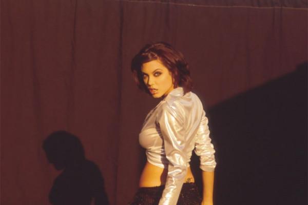 Анджелина Джоли на фотосессии Марселя Индика в 1995