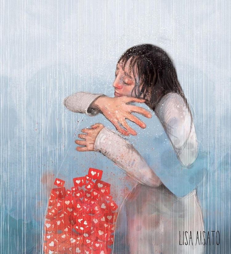 Лиза Айсато - известный в Норвегии художник  (3).jpg