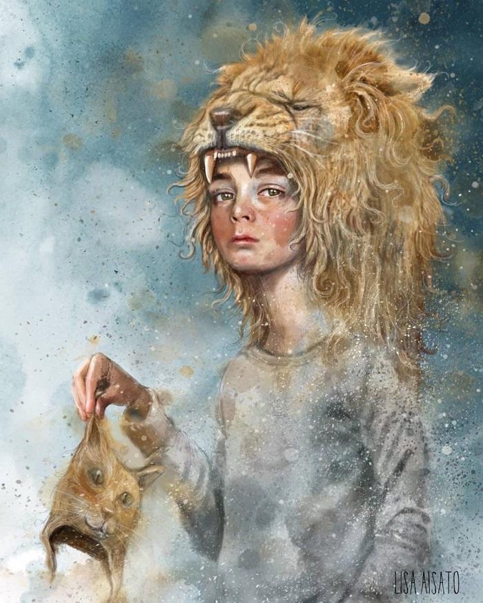 Лиза Айсато - известный в Норвегии художник  (5).jpg