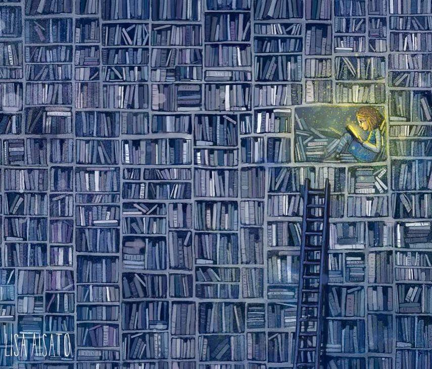 Лиза Айсато - известный в Норвегии художник  (10).jpg