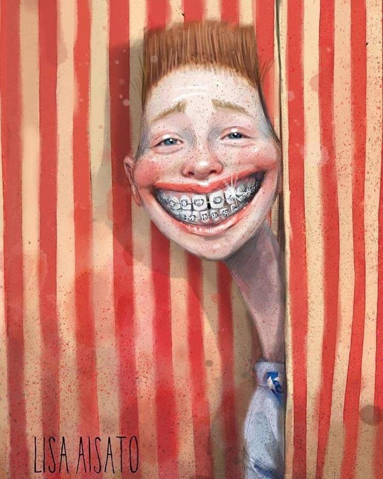 Лиза Айсато - известный в Норвегии художник  (12).jpg