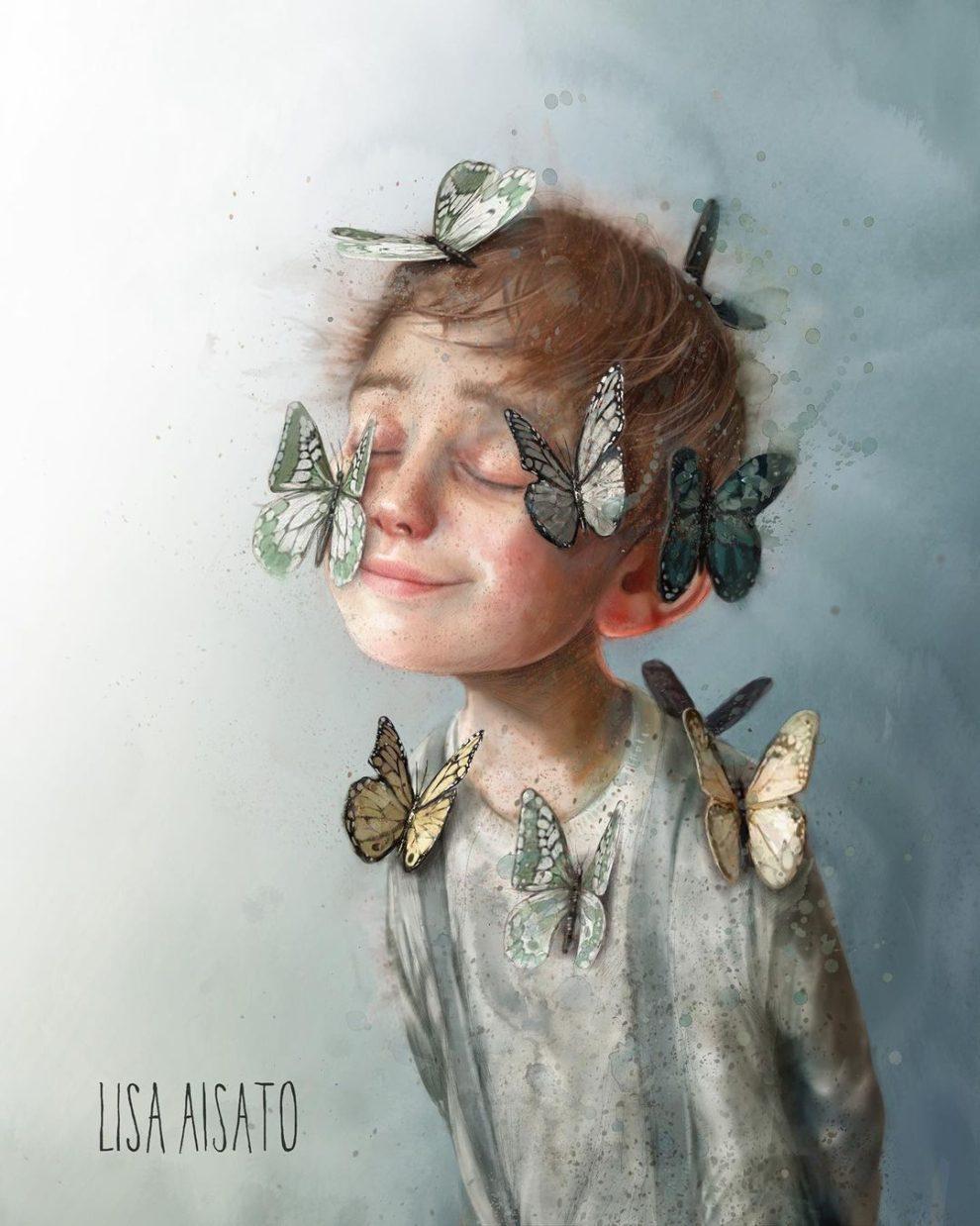 Лиза Айсато - известный в Норвегии художник  (6).jpg