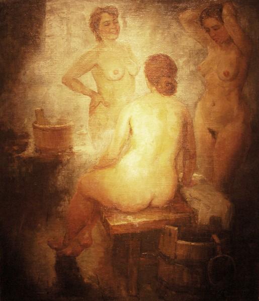 Герасимов. В бане