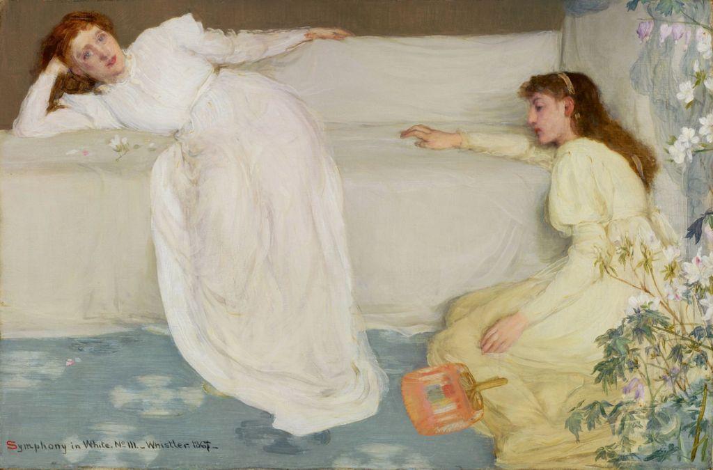 Макнил Уистлер (1834–1903), «Симфония в белом»,.jpg