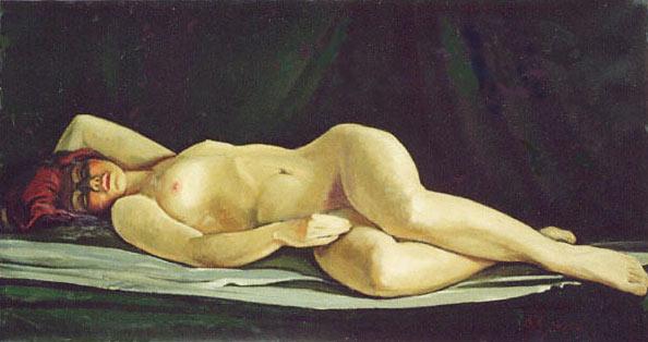 В. Хоренко. Спящая красавица. 1970