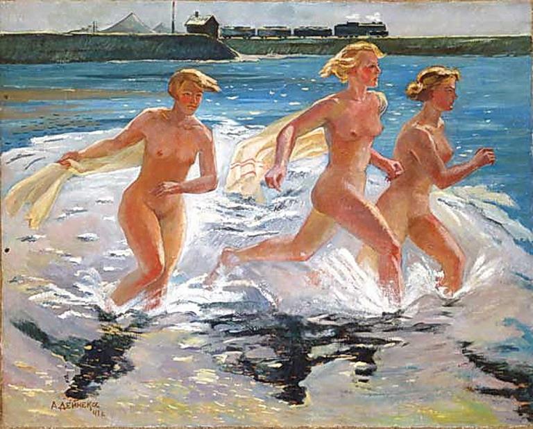 А.А. Дейнека Бегущие девушки 1941 год
