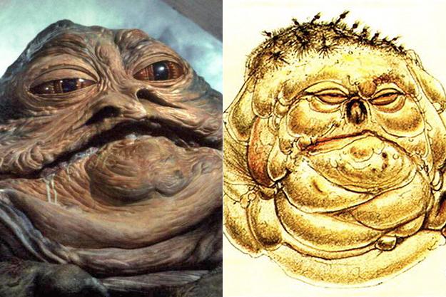 Джабба Хатт из «Звёздных войн»