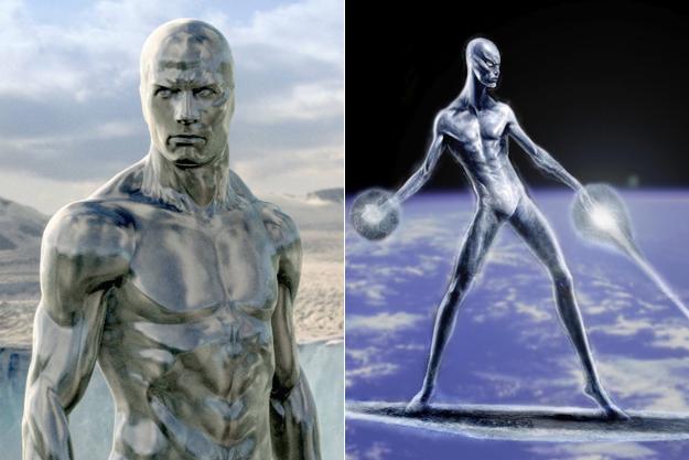 Серебрянный серфер из фильма Фантастическая четверка
