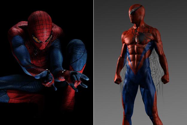 Человек-паук из  фильма «Новый Человек-паук»