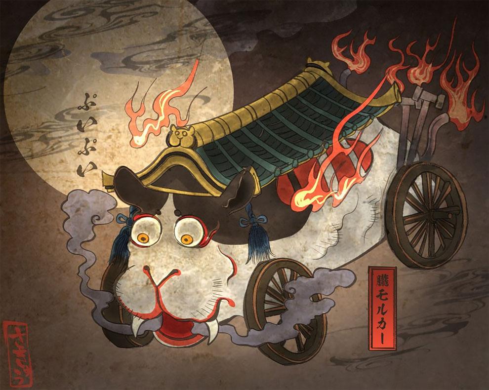 Японский художник и иллюстратор Сакю  (2).jpg