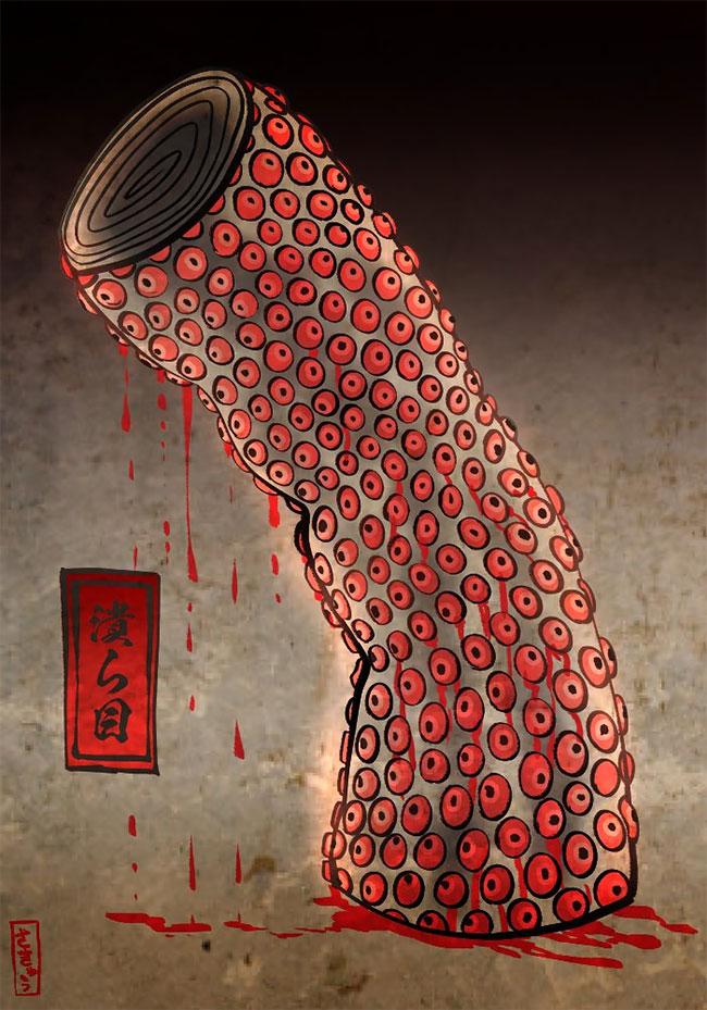 Японский художник и иллюстратор Сакю  (4).jpg