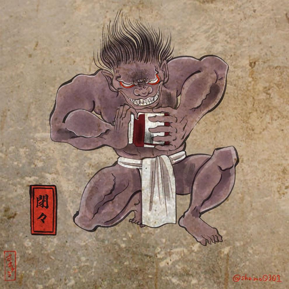Японский художник и иллюстратор Сакю  (5).jpg