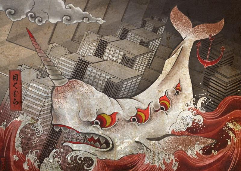 Японский художник и иллюстратор Сакю  (19).jpg