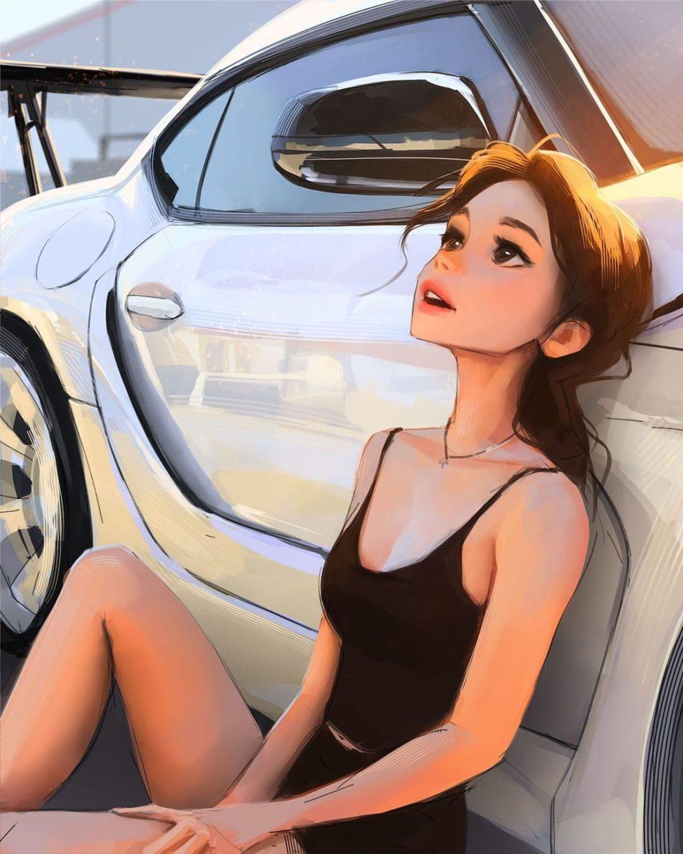 Солнечные портреты девушек Сэма Янга (14).JPG
