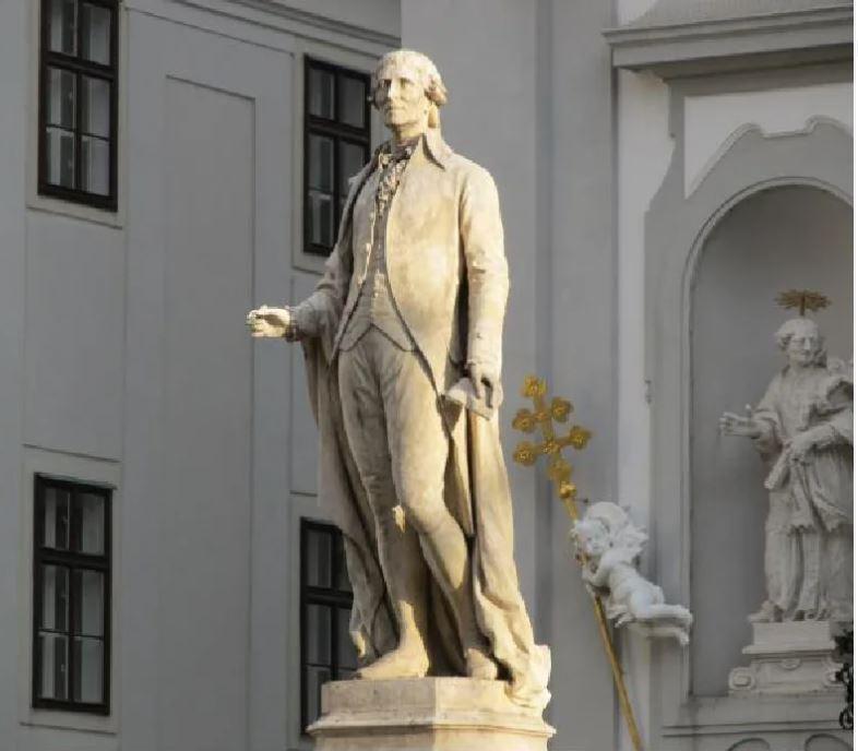 Памятник Гайдну в ВЕНЕ.JPG