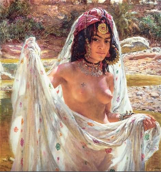 Nasreddine Dinet [Étienne Dinet] 1861-1929 - French Orientalist painter - Tutt'Art@ (20)