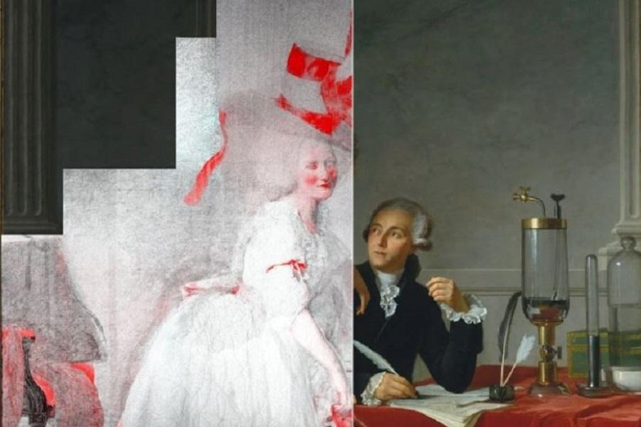 Жак-Луи Давид. Портрет Антуана Лорана Лавуазье и его жены. 1788 (1).JPG