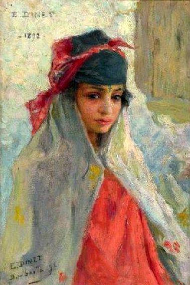 Nasreddine Dinet [Étienne Dinet] 1861-1929 - French Orientalist painter - Tutt'Art@ (2)