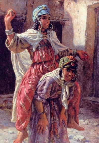 Nasreddine Dinet [Étienne Dinet] 1861-1929 - French Orientalist painter - Tutt'Art@ (4)