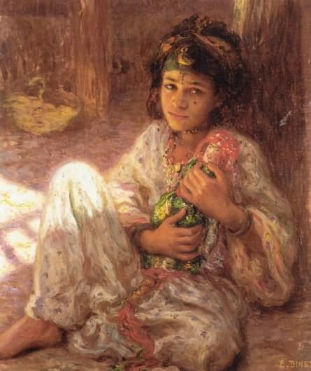 Nasreddine Dinet [Étienne Dinet] 1861-1929 - French Orientalist painter - Tutt'Art@ (9)