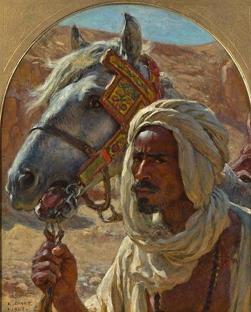 Nasreddine Dinet [Étienne Dinet] 1861-1929 - French Orientalist painter - Tutt'Art@ (12)