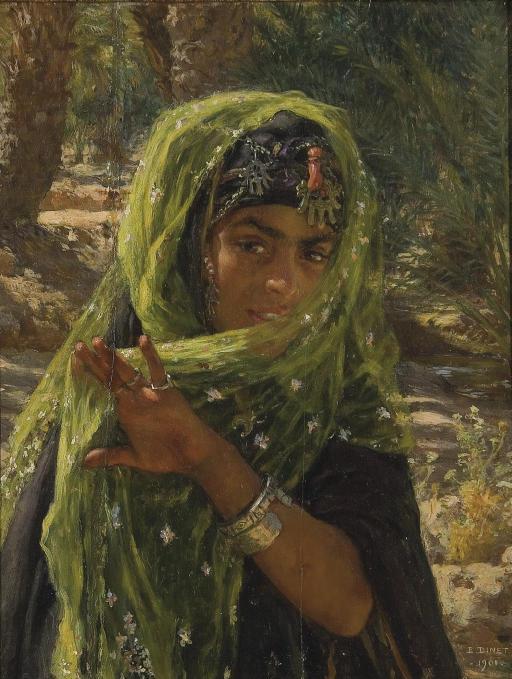 Nasreddine Dinet [Étienne Dinet] 1861-1929 - French Orientalist painter - Tutt'Art@ (16)