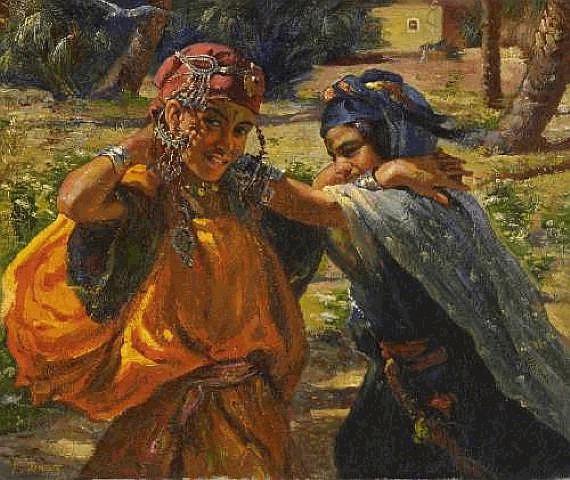 Nasreddine Dinet [Étienne Dinet] 1861-1929 - French Orientalist painter - Tutt'Art@ (21)