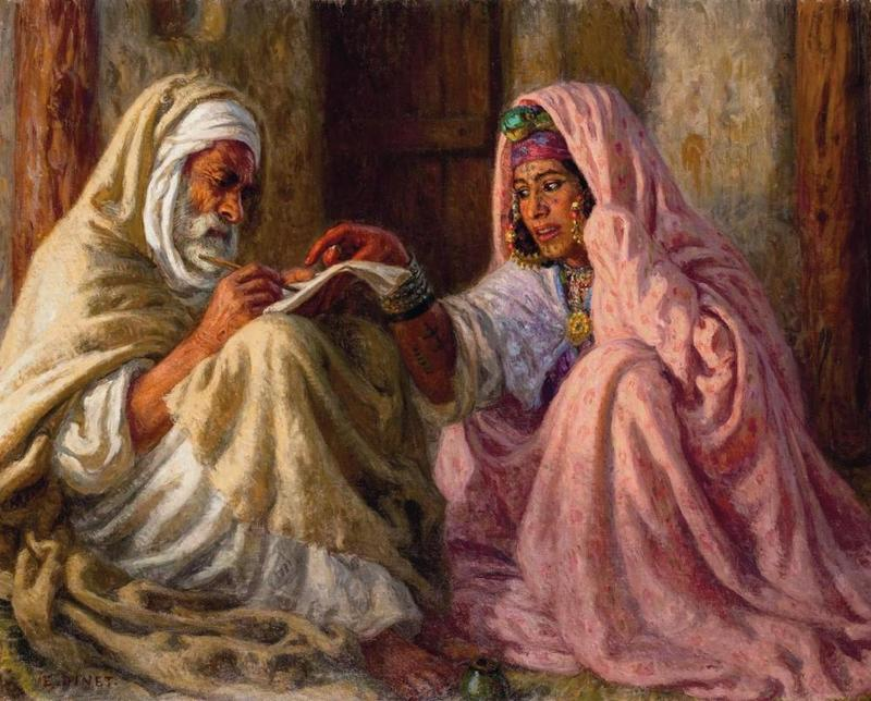 Nasreddine Dinet [Étienne Dinet] 1861-1929 - French Orientalist painter - Tutt'Art@ (34)
