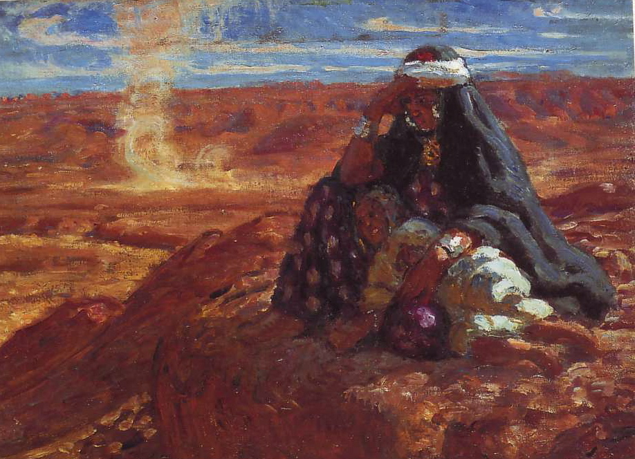 Nasreddine Dinet [Étienne Dinet] 1861-1929 - French Orientalist painter - Tutt'Art@ (36)