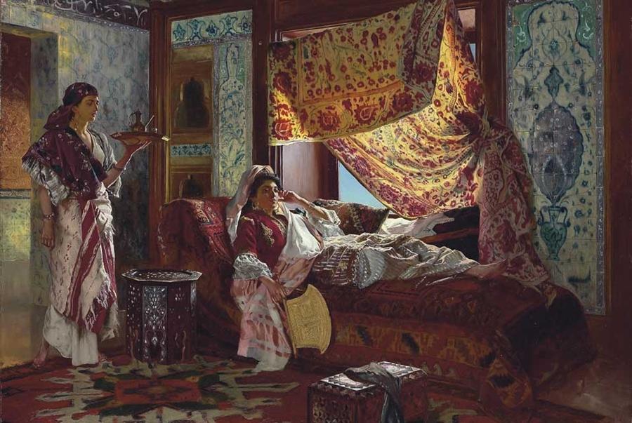 Nasreddine Dinet [Étienne Dinet] 1861-1929 - French Orientalist painter - Tutt'Art@ (37)