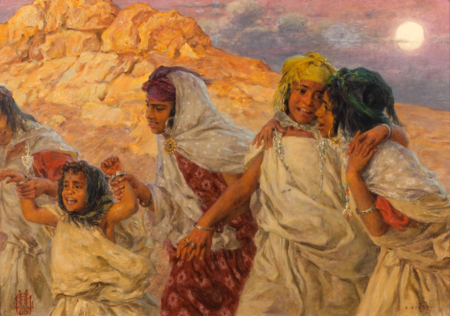 Nasreddine Dinet [Étienne Dinet] 1861-1929 - French Orientalist painter - Tutt'Art@ (38)