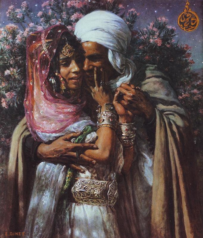 Nasreddine Dinet [Étienne Dinet] 1861-1929 - French Orientalist painter - Tutt'Art@ (44)