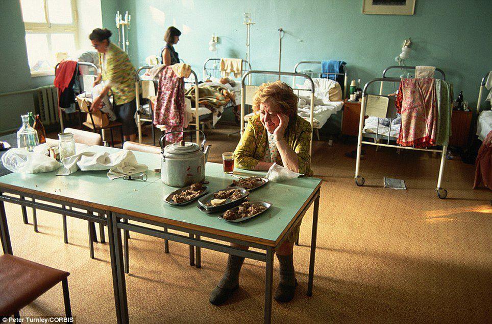 В московской больнице, июль 1991 года