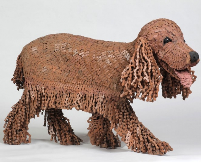 Nirit Levav Packer _ sculptures _ artodyssey _ dogs  (1)