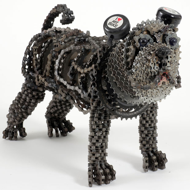 Nirit Levav Packer _ sculptures _ artodyssey _ dogs  (2)