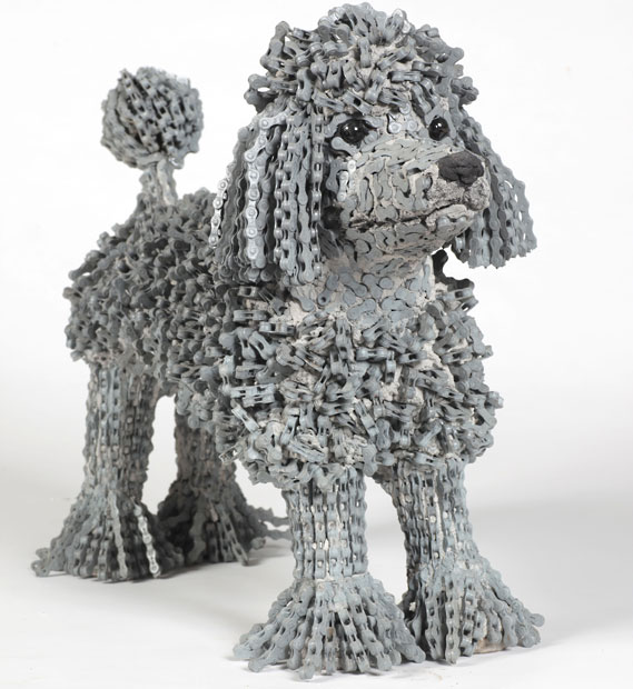 Nirit Levav Packer _ sculptures _ artodyssey _ dogs  (3)