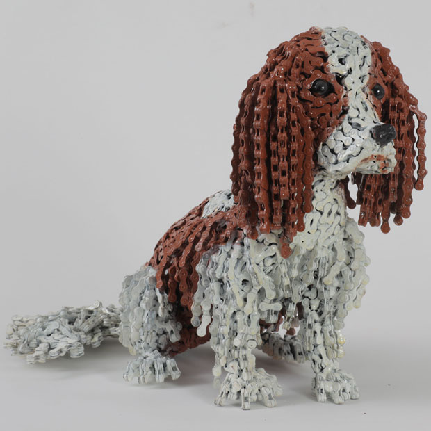 Nirit Levav Packer _ sculptures _ artodyssey _ dogs  (5)
