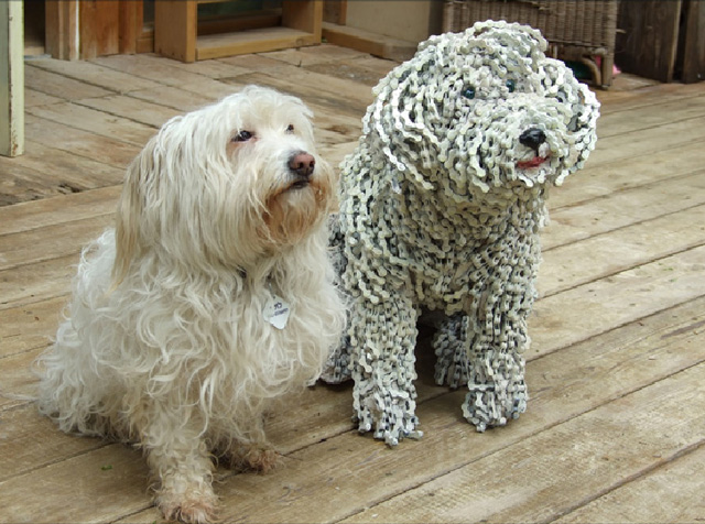 Nirit Levav Packer _ sculptures _ artodyssey _ dogs  (6)