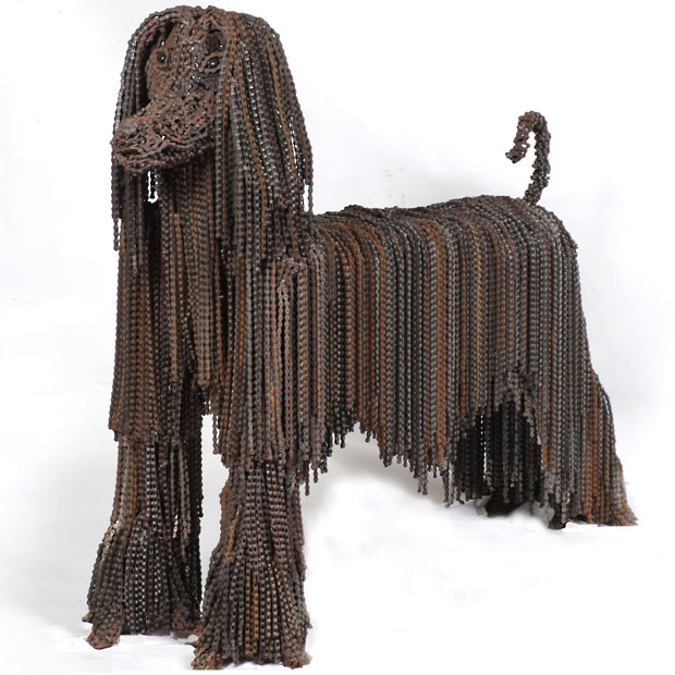 Nirit Levav Packer _ sculptures _ artodyssey _ dogs  (7)