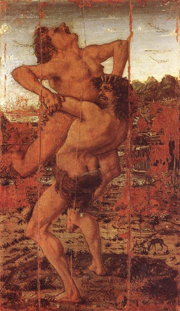«Геракл и Антей», Антонио дель Поллайоло (2).jpg