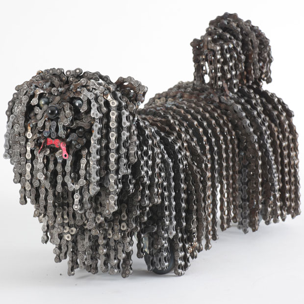 Nirit Levav Packer _ sculptures _ artodyssey _ dogs  (9)