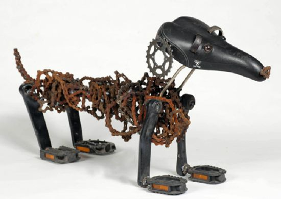 Nirit Levav Packer _ sculptures _ artodyssey _ dogs  (13)