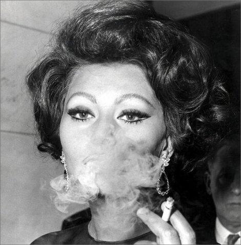 Sophia loren and smoking gallery