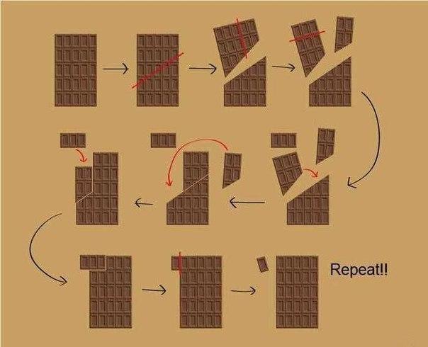 бесконечный шоколад
