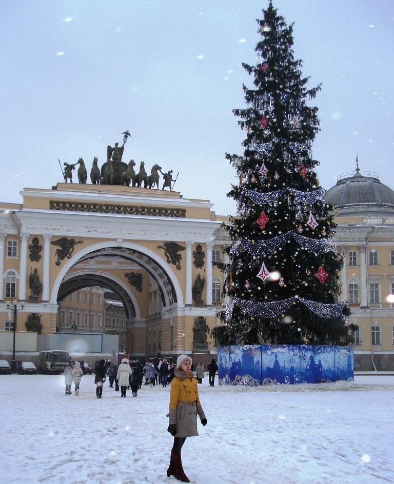 Дворцовая площадь 2013