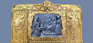 Ларец-ковчег в котором хранилась грамота об утверждении на царство