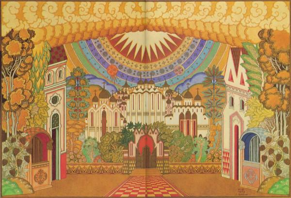 Китеж-град, декорации к опере